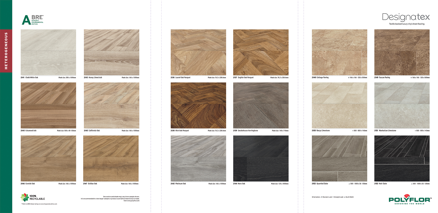 Designatex Heavy Domestic Light Commercial Wood And