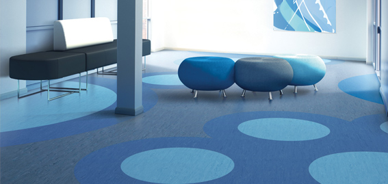 Homogeneous Flooring Attractive High Performance Vinyl