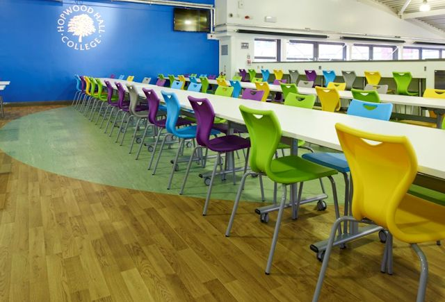 Hopwood Hall College Refectory Case Study Polyflor