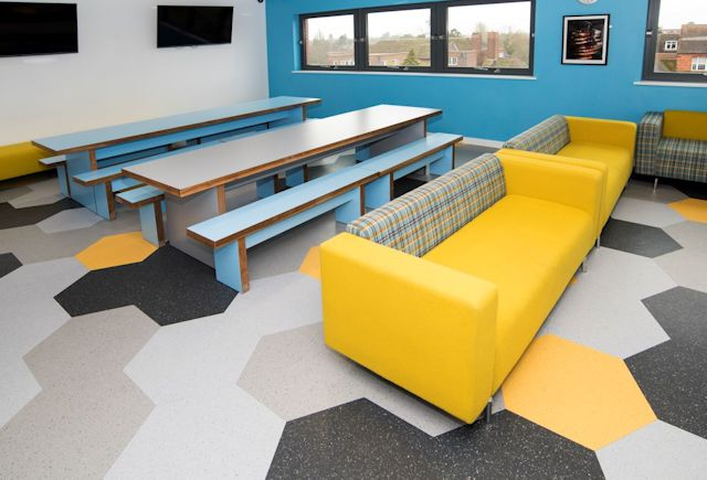 Solihull School New Sixth Form Centre Case Study Polyflor